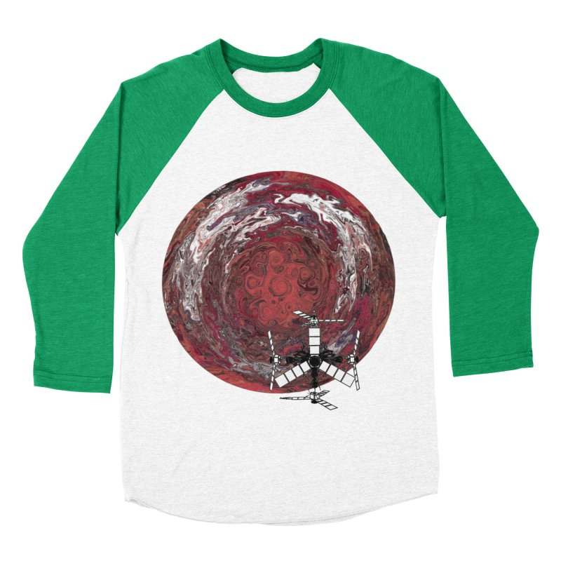 Juno Women's Baseball Triblend Longsleeve T-Shirt by RedHeat's Shop