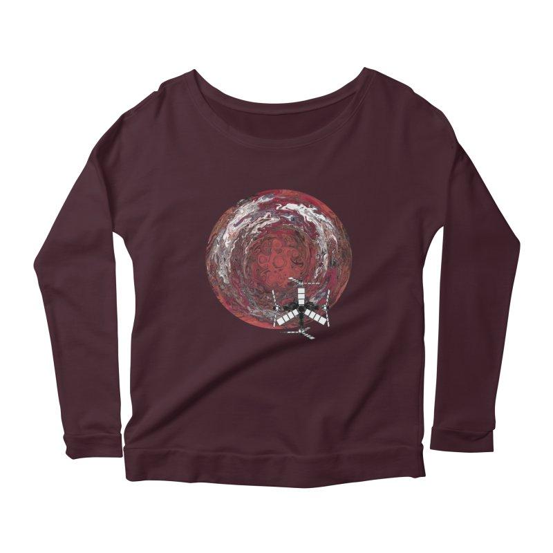Juno Women's Scoop Neck Longsleeve T-Shirt by RedHeat's Shop