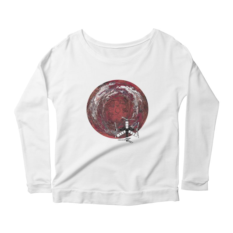 Juno Women's Scoop Neck Longsleeve T-Shirt by RedHeat's Shop