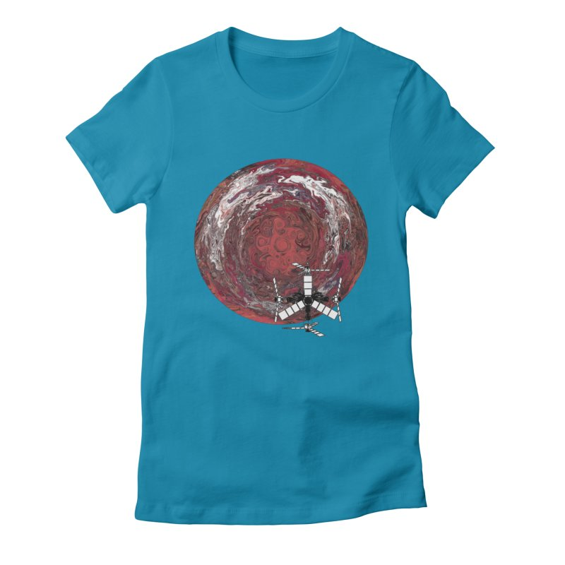 Juno Women's Fitted T-Shirt by RedHeat's Shop