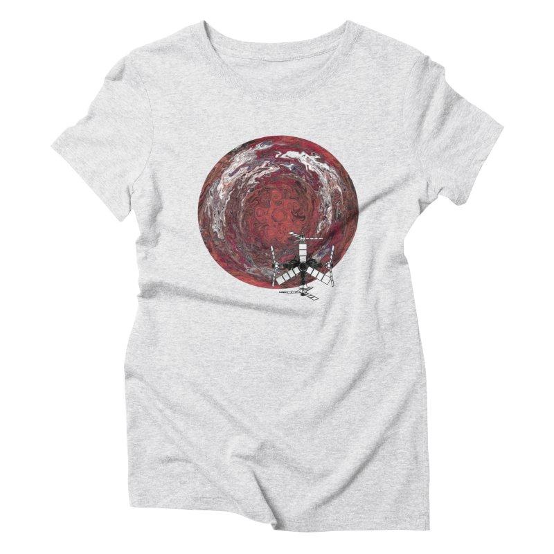 Juno Women's Triblend T-Shirt by RedHeat's Shop