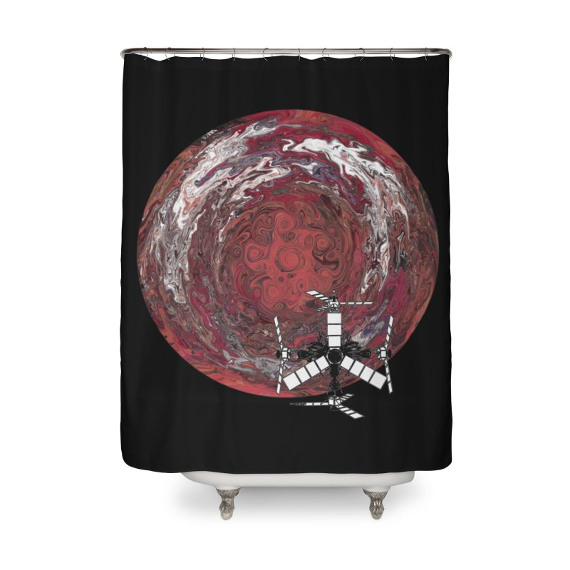Juno Home Shower Curtain by RedHeat's Shop