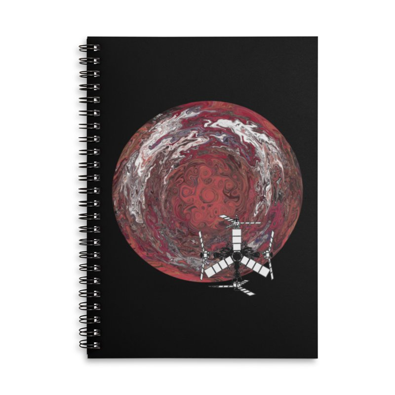 Juno Accessories Lined Spiral Notebook by RedHeat's Shop