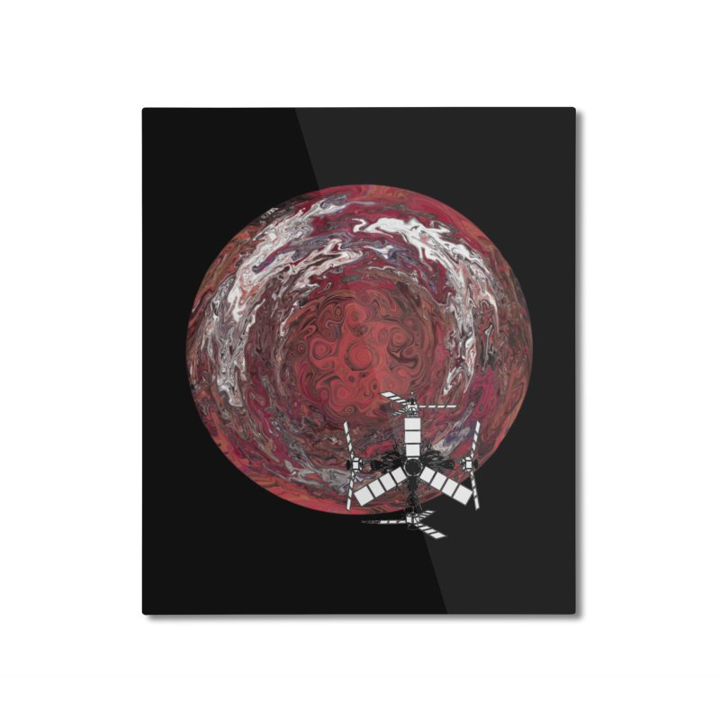 Juno Home Mounted Aluminum Print by RedHeat's Shop