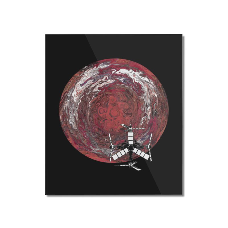 Juno Home Mounted Acrylic Print by RedHeat's Shop