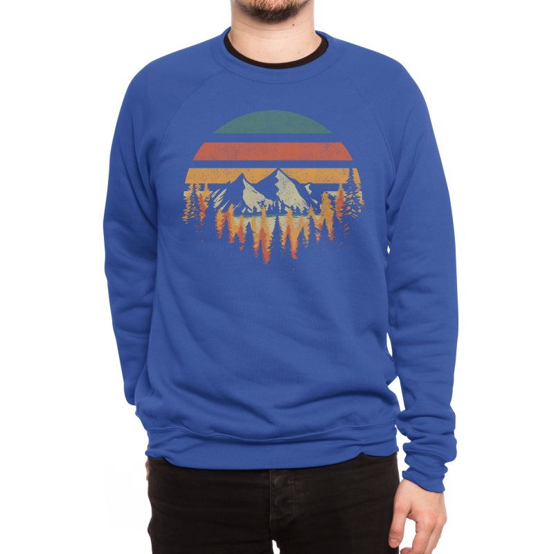 Deeply Wild Men's Sweatshirt by redhorse's Artist Shop