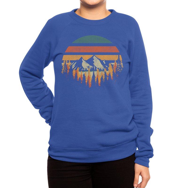 Deeply Wild Women's Sweatshirt by redhorse's Artist Shop