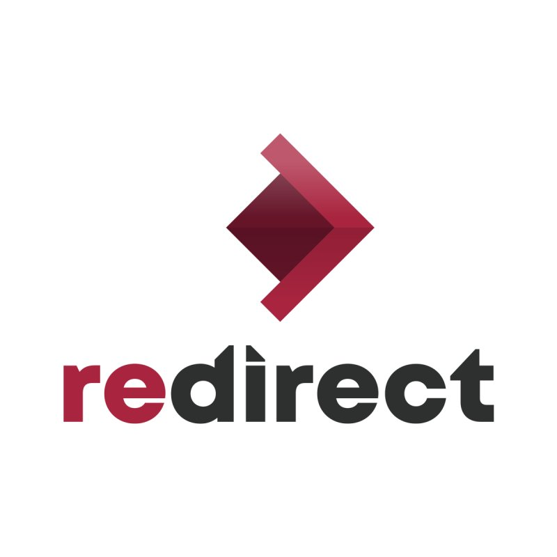 redirect logo Men's T-Shirt by redirect's Artist Shop