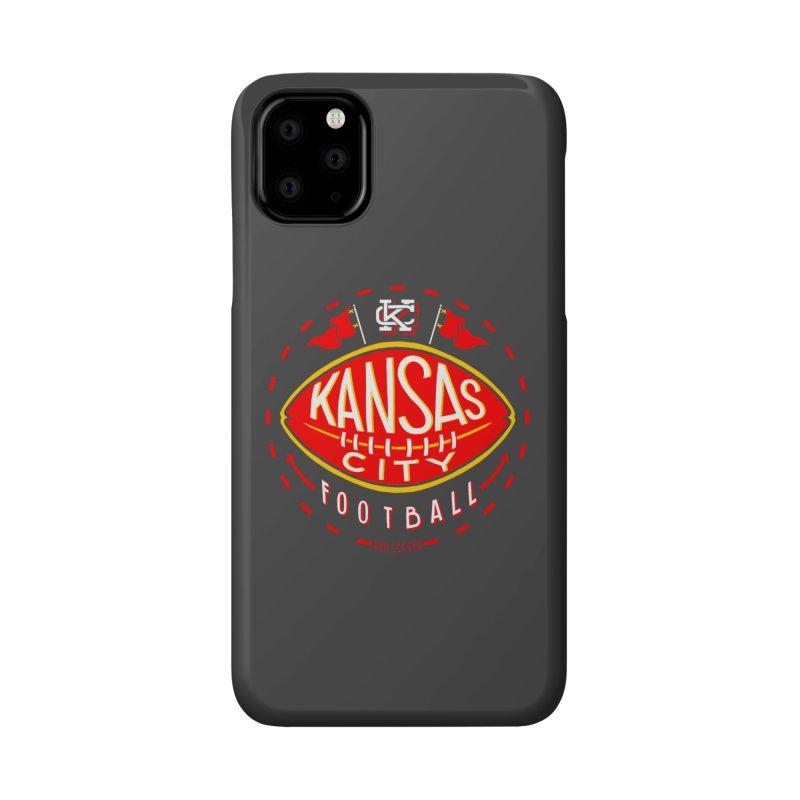 KC Football (Dark) Accessories Phone Case by redleggerstudio's Shop