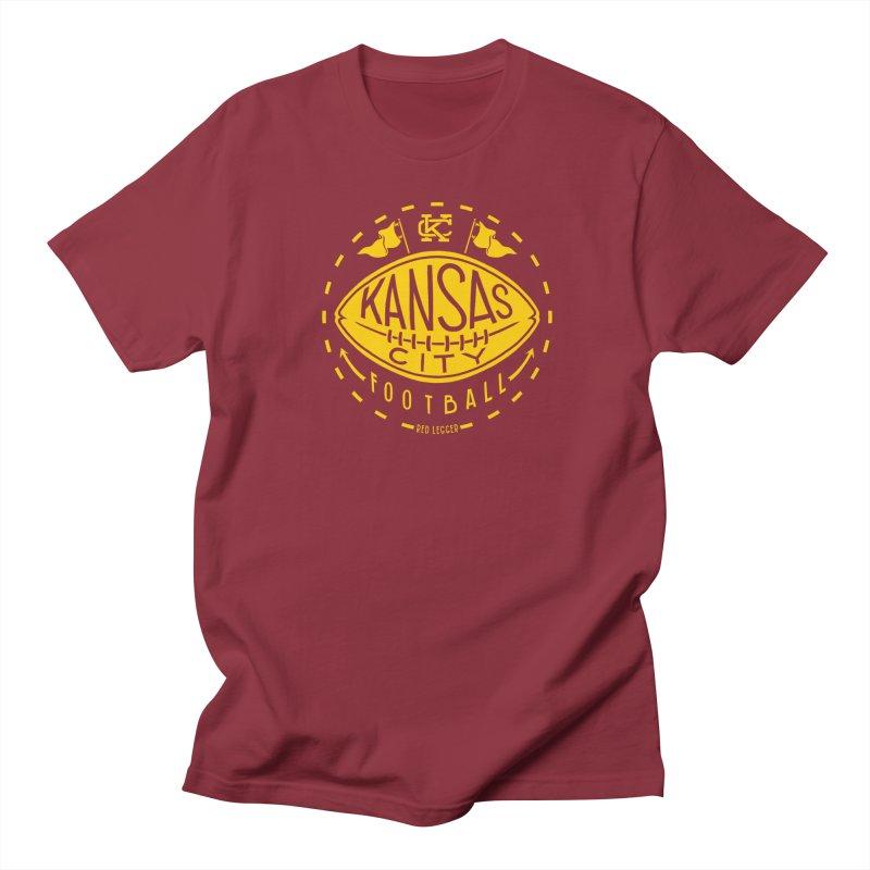 KC Football (Yellow) Women's Regular Unisex T-Shirt by redleggerstudio's Shop