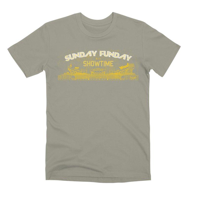 Sunday Funday Men's Premium T-Shirt by redleggerstudio's Shop