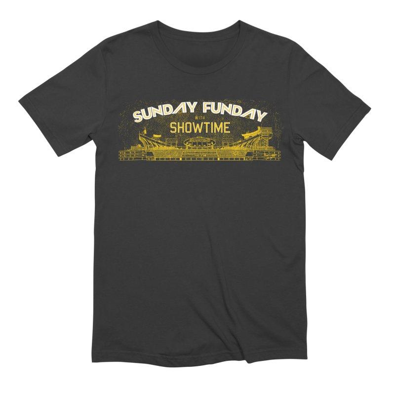 Sunday Funday Men's Extra Soft T-Shirt by redleggerstudio's Shop