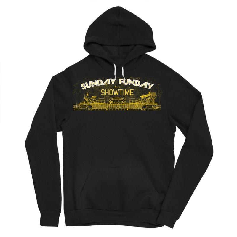 Sunday Funday Men's Sponge Fleece Pullover Hoody by redleggerstudio's Shop