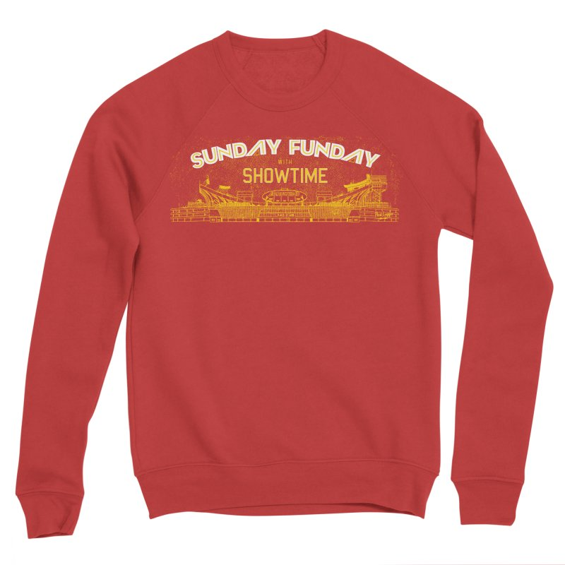 Sunday Funday Men's Sponge Fleece Sweatshirt by redleggerstudio's Shop