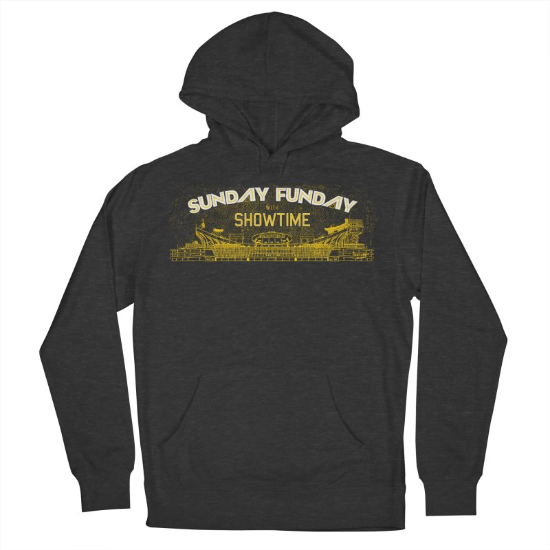 Sunday Funday Women's French Terry Pullover Hoody by redleggerstudio's Shop