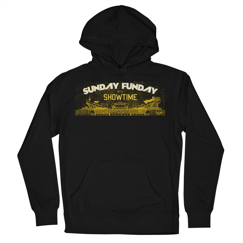 Sunday Funday Men's French Terry Pullover Hoody by redleggerstudio's Shop