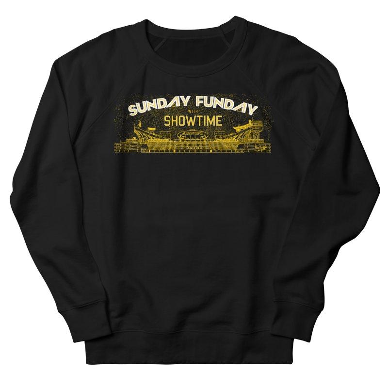 Sunday Funday Men's French Terry Sweatshirt by redleggerstudio's Shop