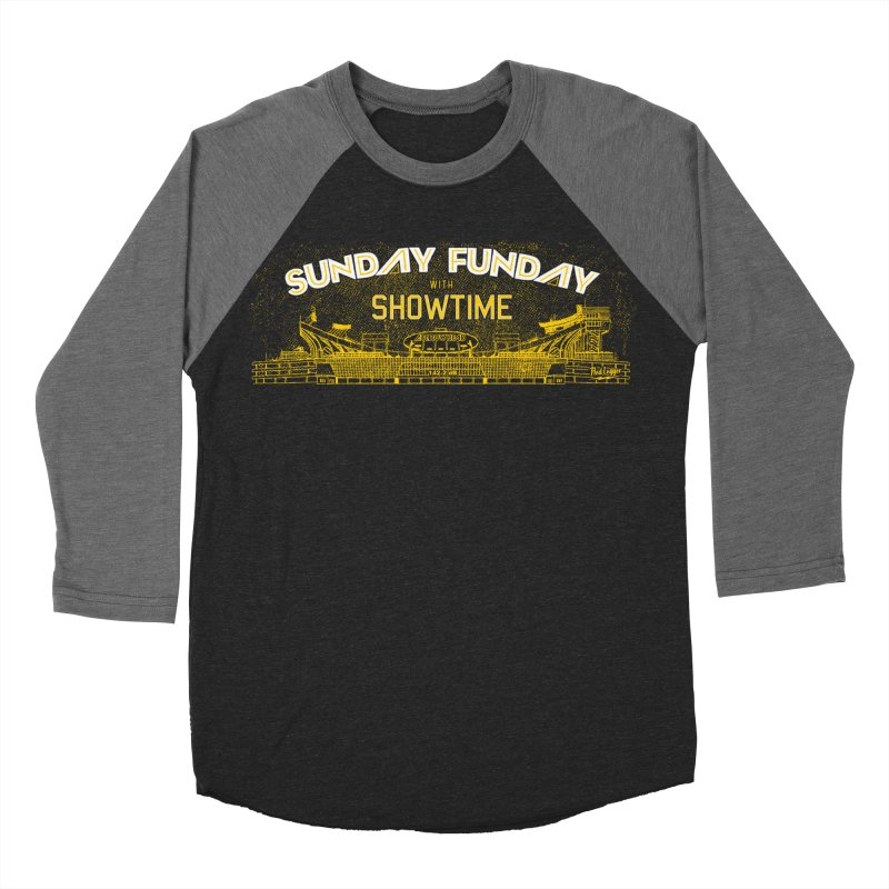 Sunday Funday Men's Baseball Triblend Longsleeve T-Shirt by redleggerstudio's Shop