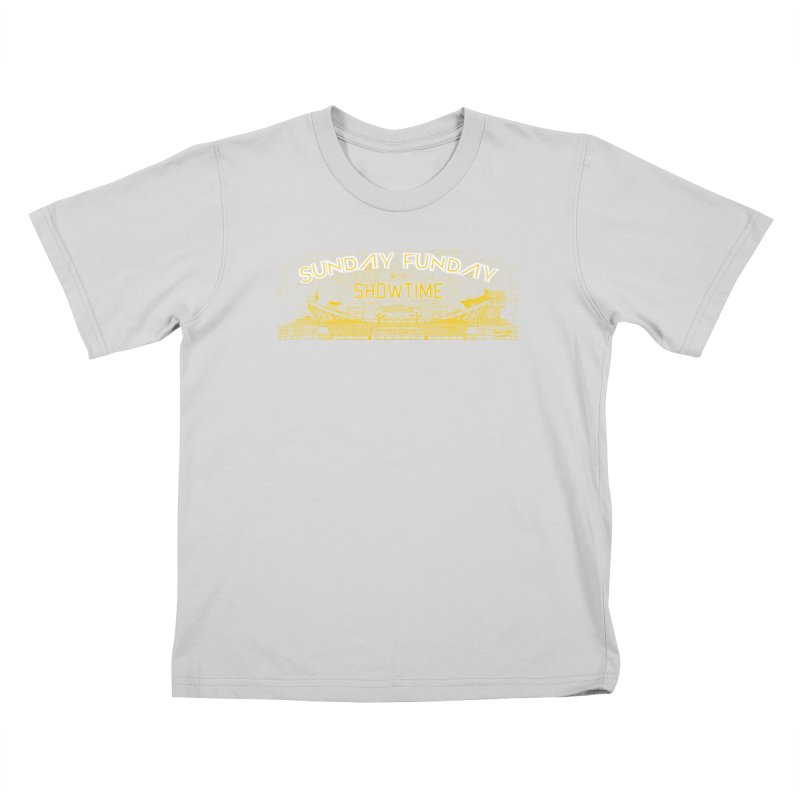 Sunday Funday Kids T-Shirt by redleggerstudio's Shop