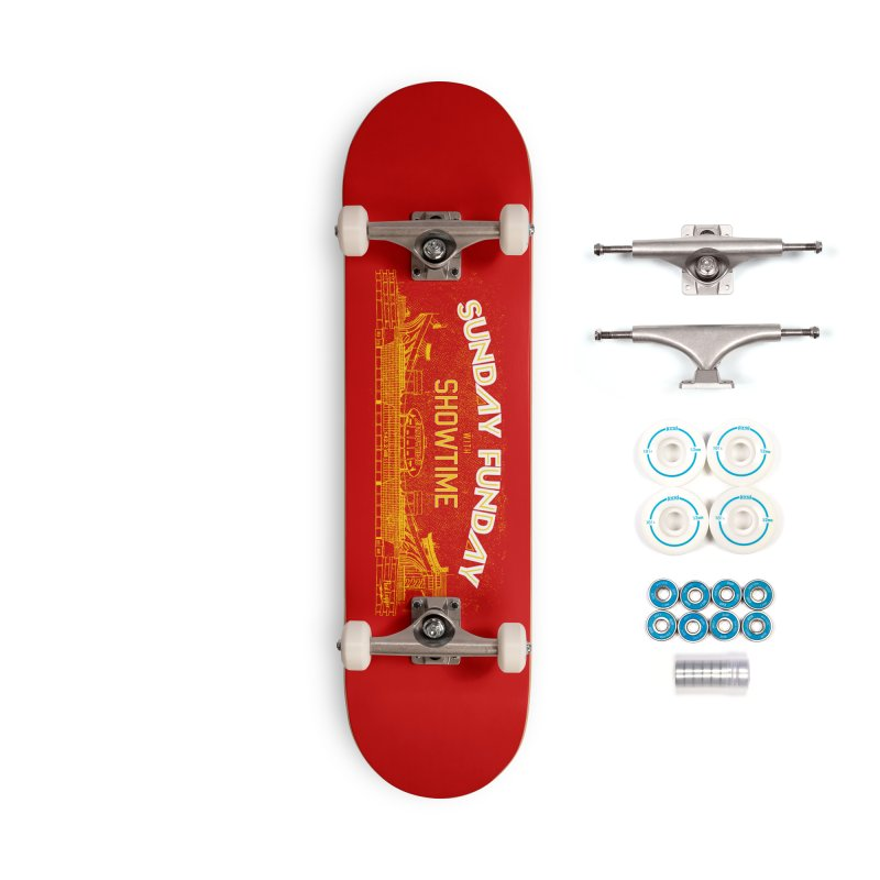 Sunday Funday Accessories Complete - Basic Skateboard by redleggerstudio's Shop