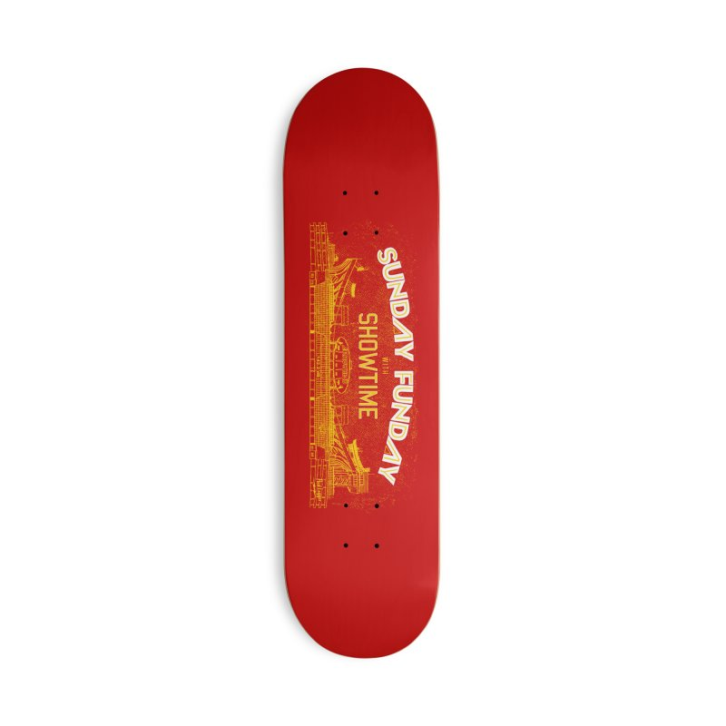 Sunday Funday Accessories Deck Only Skateboard by redleggerstudio's Shop