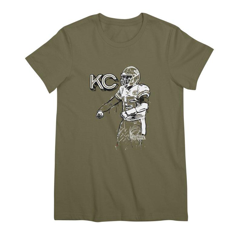 MVP Women's Premium T-Shirt by redleggerstudio's Shop
