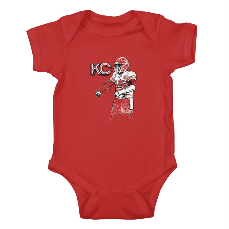 MVP Kids Baby Bodysuit by redleggerstudio's Shop