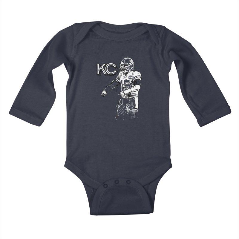 MVP Kids Baby Longsleeve Bodysuit by redleggerstudio's Shop