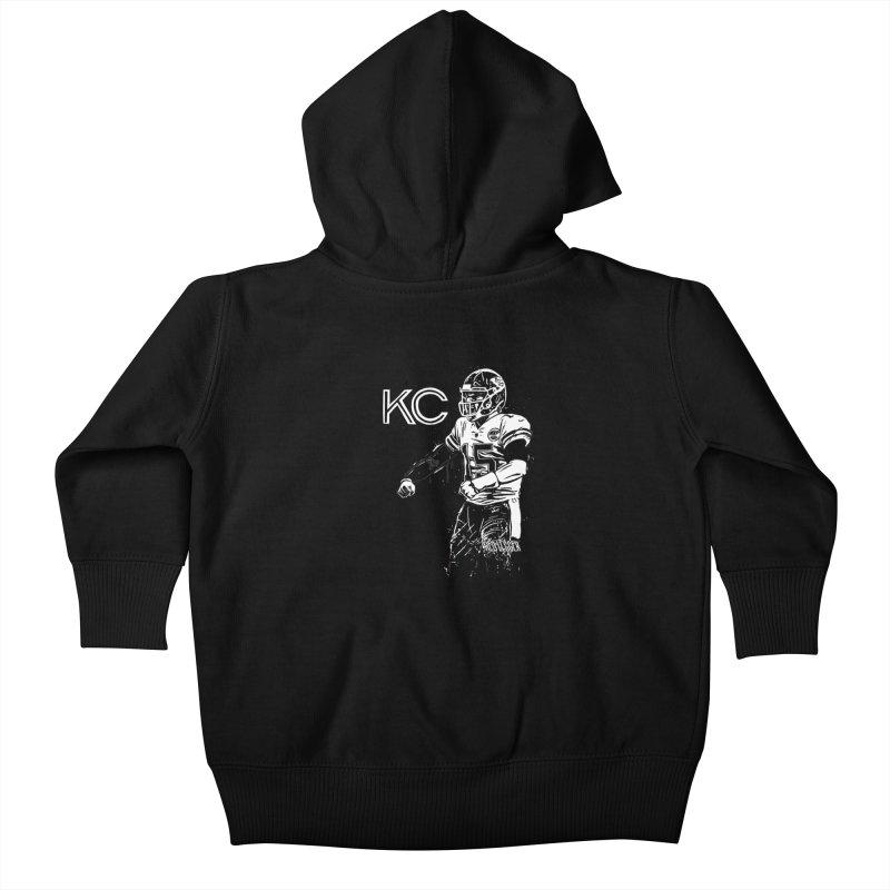 MVP Kids Baby Zip-Up Hoody by redleggerstudio's Shop