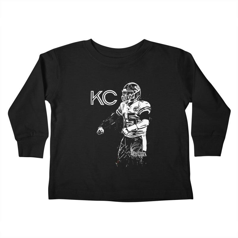 MVP Kids Toddler Longsleeve T-Shirt by redleggerstudio's Shop