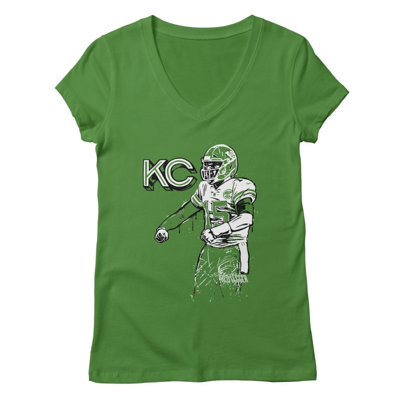 MVP Women's Regular V-Neck by redleggerstudio's Shop