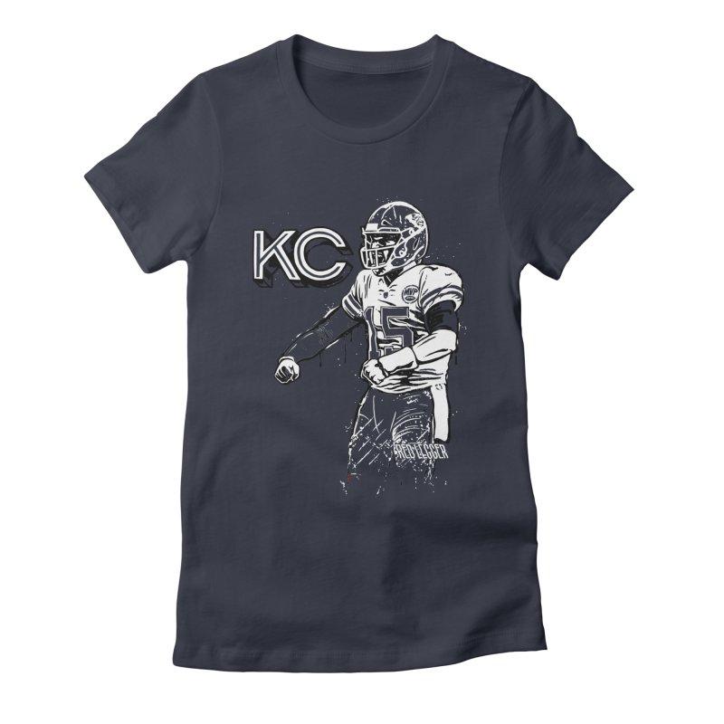 MVP Women's Fitted T-Shirt by redleggerstudio's Shop