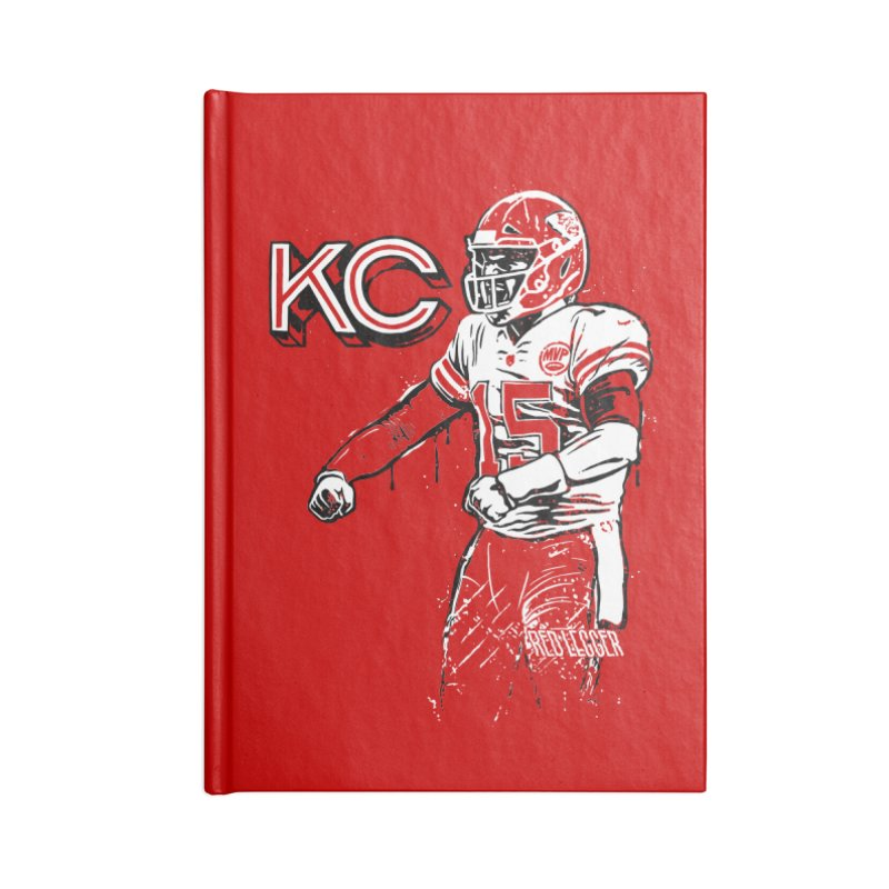 MVP Accessories Blank Journal Notebook by redleggerstudio's Shop