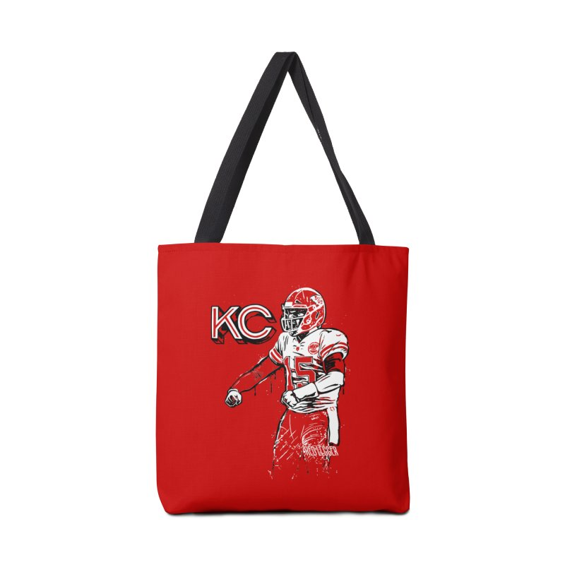 MVP Accessories Tote Bag Bag by redleggerstudio's Shop
