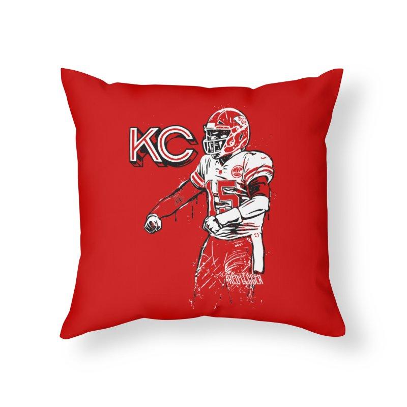 MVP Home Throw Pillow by redleggerstudio's Shop
