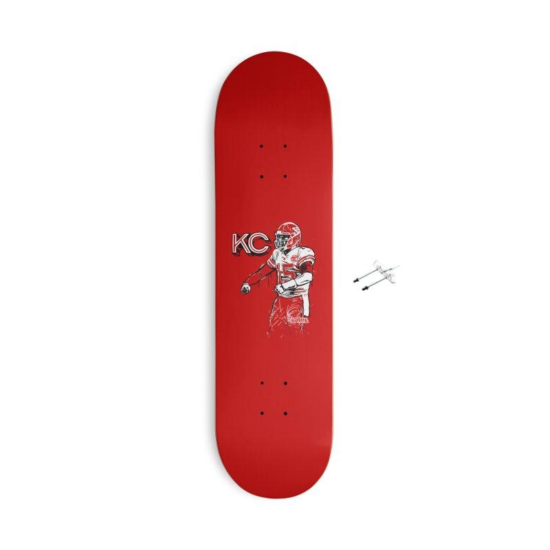 MVP Accessories With Hanging Hardware Skateboard by redleggerstudio's Shop