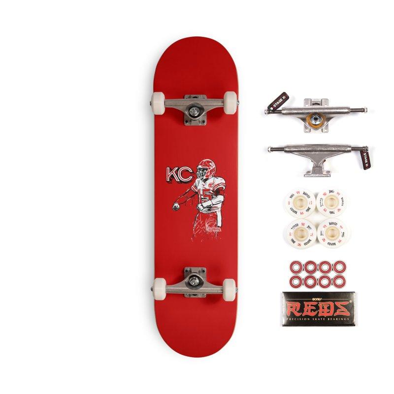 MVP Accessories Complete - Pro Skateboard by redleggerstudio's Shop