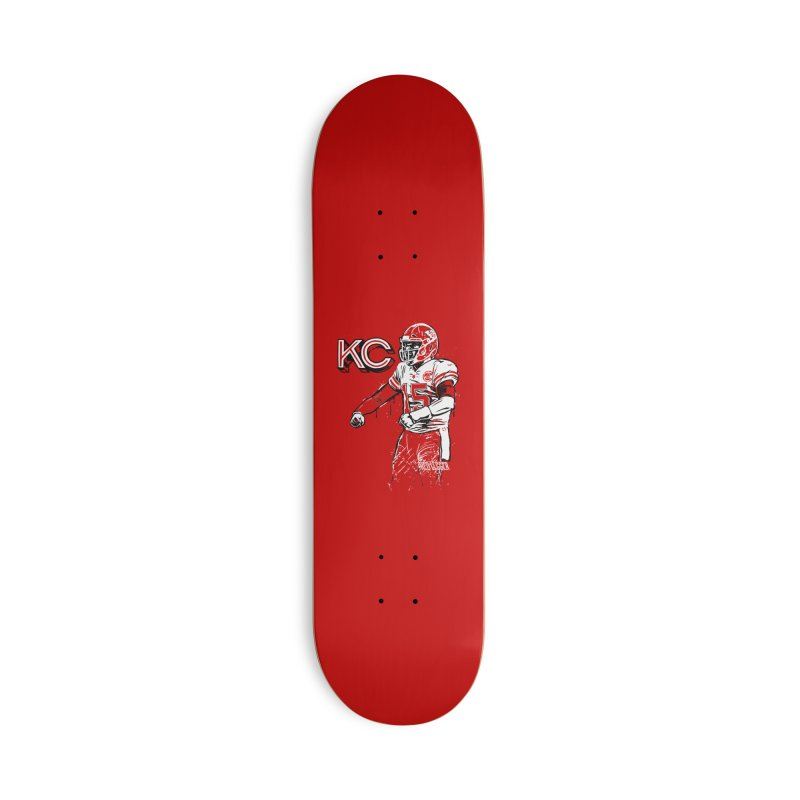 MVP Accessories Deck Only Skateboard by redleggerstudio's Shop