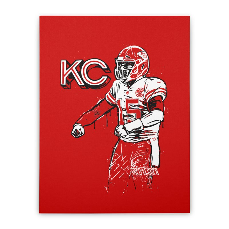 MVP Home Stretched Canvas by redleggerstudio's Shop