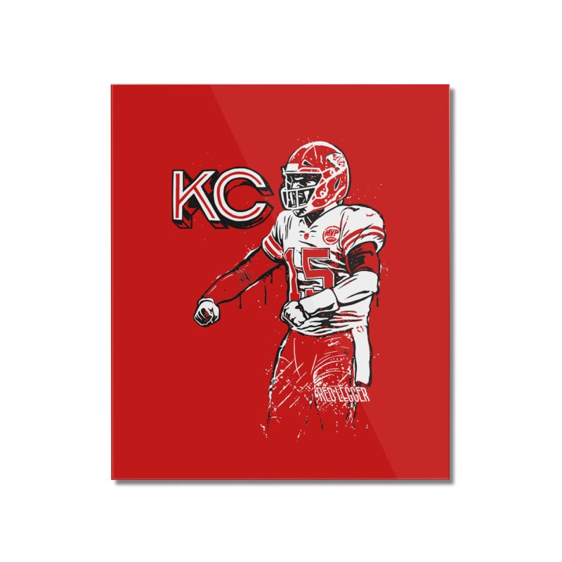 MVP Home Mounted Acrylic Print by redleggerstudio's Shop