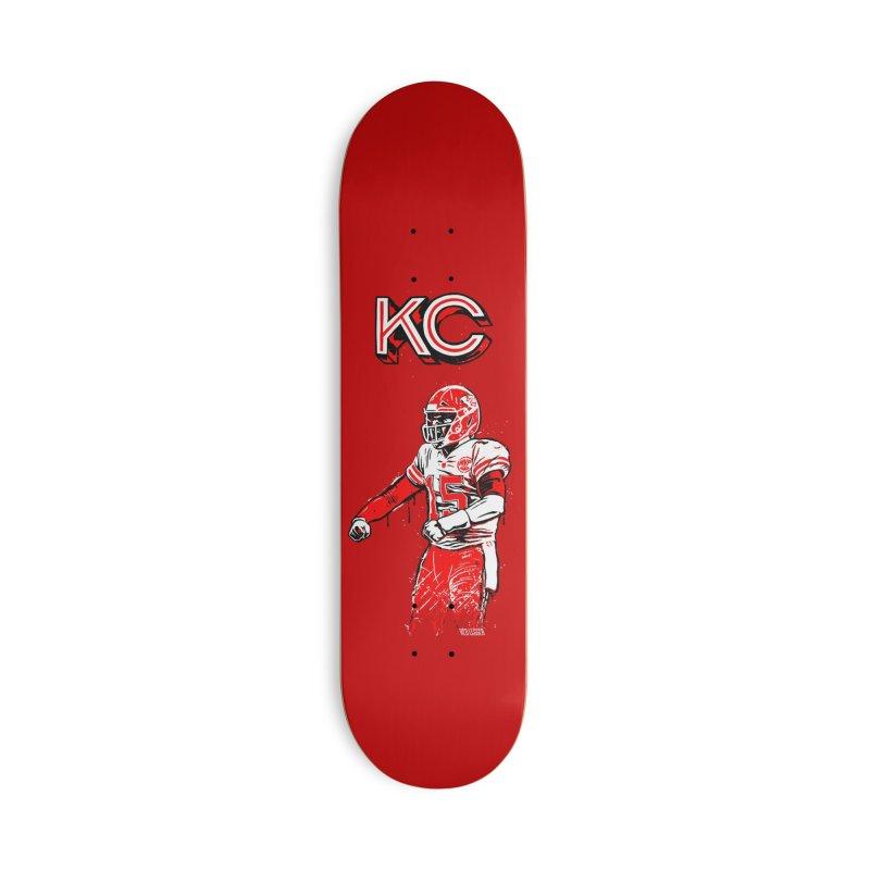 MVP Accessories Skateboard by redleggerstudio's Shop