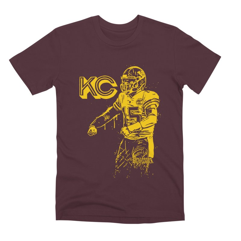 MVP (Yellow) Men's Premium T-Shirt by redleggerstudio's Shop