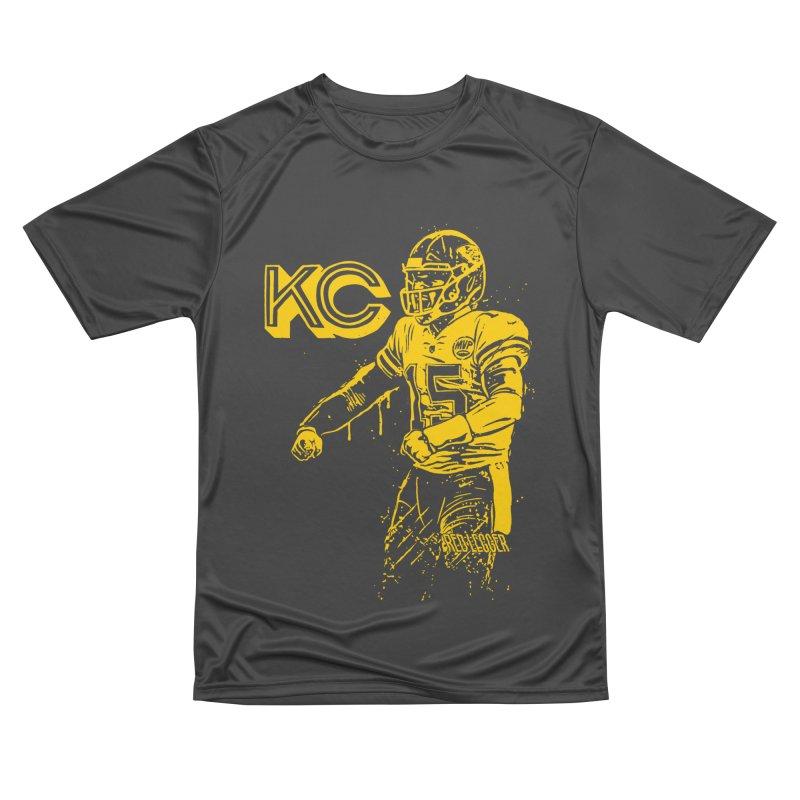 MVP (Yellow) Men's Performance T-Shirt by redleggerstudio's Shop