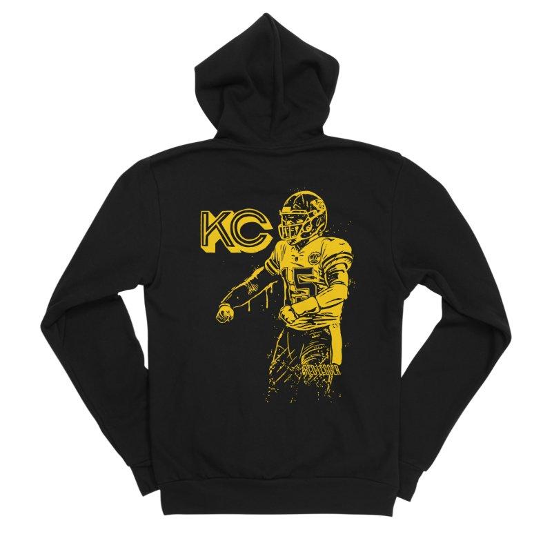 MVP (Yellow) Women's Sponge Fleece Zip-Up Hoody by redleggerstudio's Shop