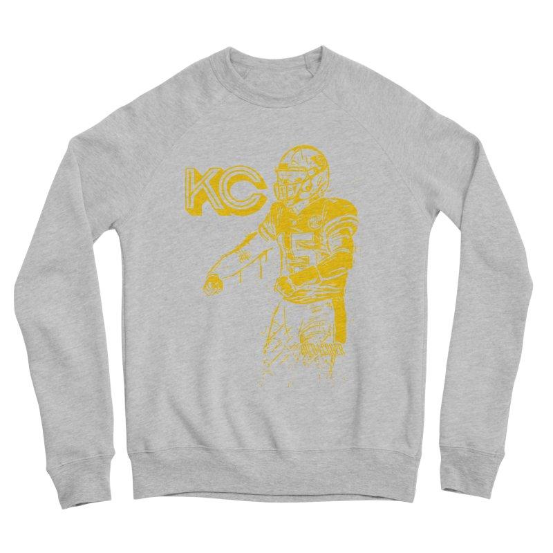 MVP (Yellow) Men's Sponge Fleece Sweatshirt by redleggerstudio's Shop