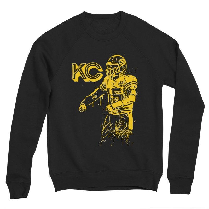 MVP (Yellow) Women's Sponge Fleece Sweatshirt by redleggerstudio's Shop
