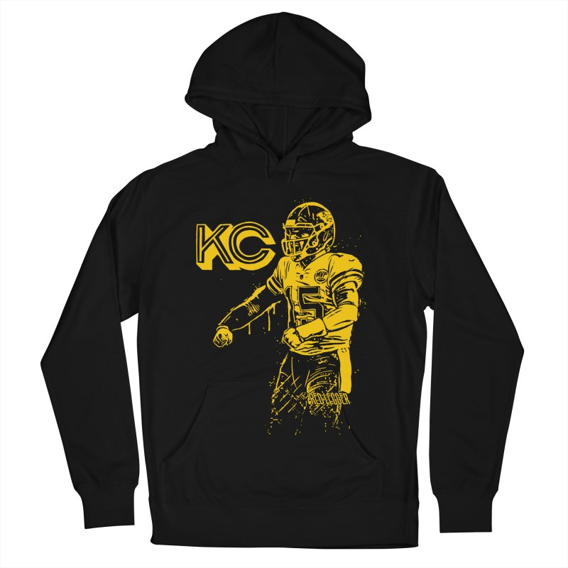 MVP (Yellow) Women's French Terry Pullover Hoody by redleggerstudio's Shop