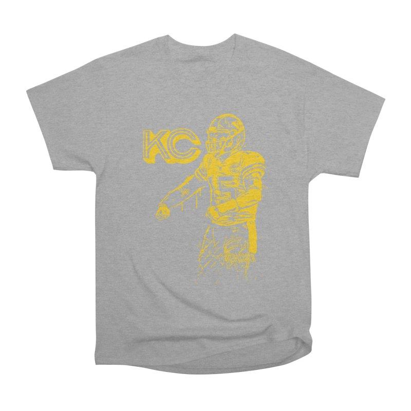 MVP (Yellow) Women's Heavyweight Unisex T-Shirt by redleggerstudio's Shop