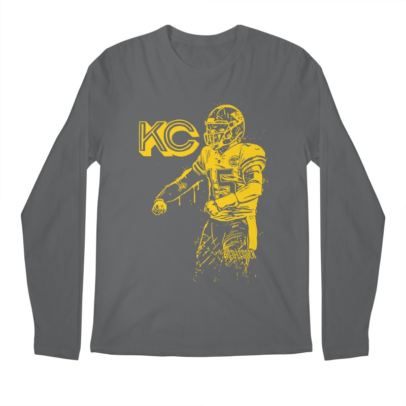 MVP (Yellow) Men's Regular Longsleeve T-Shirt by redleggerstudio's Shop