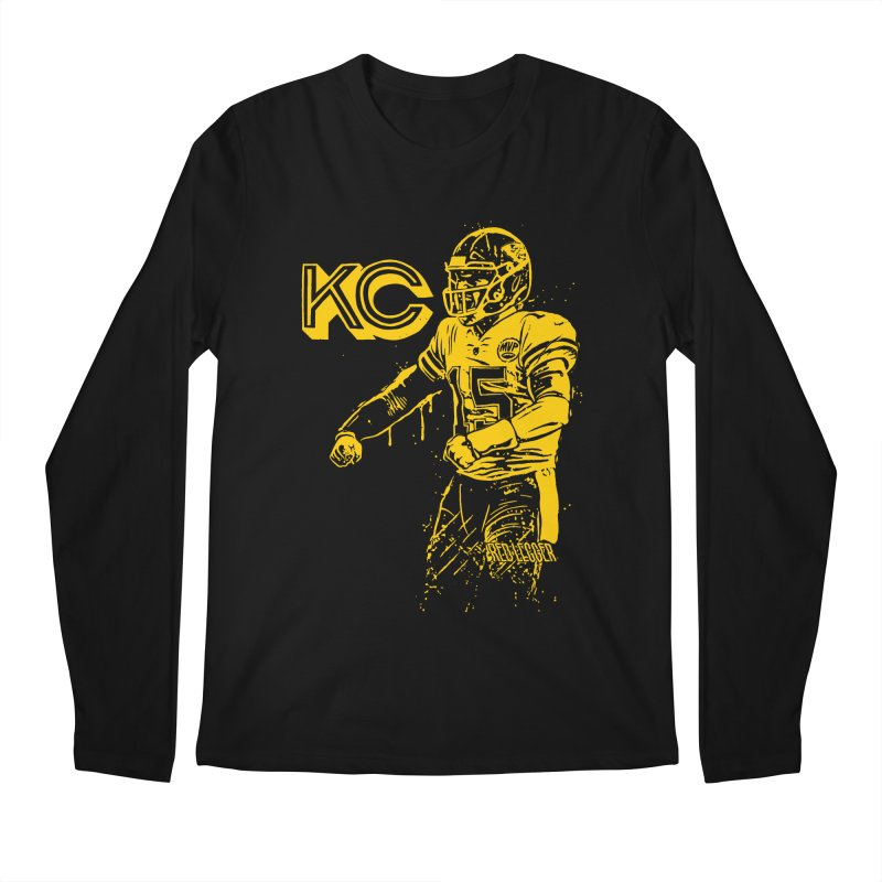 MVP (Yellow) Men's Regular Longsleeve T-Shirt by redleggerstudio's Shop